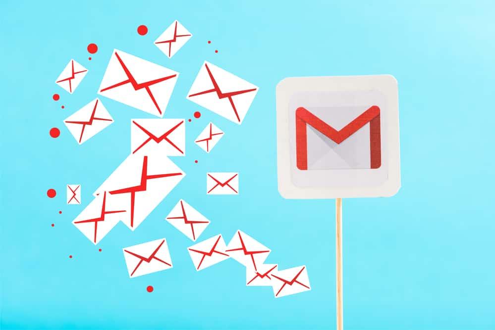 Emaile z Gmaila