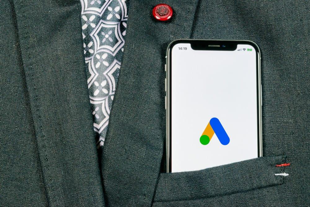 Google Ads na telefonie